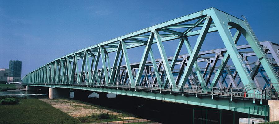 پلهای خرپایی