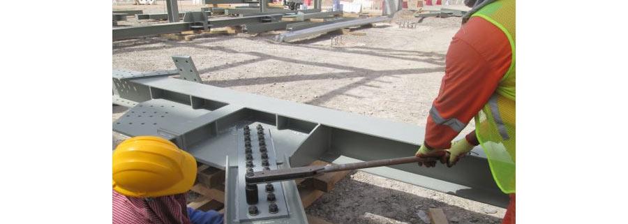 اتصالات پیچی فولادی