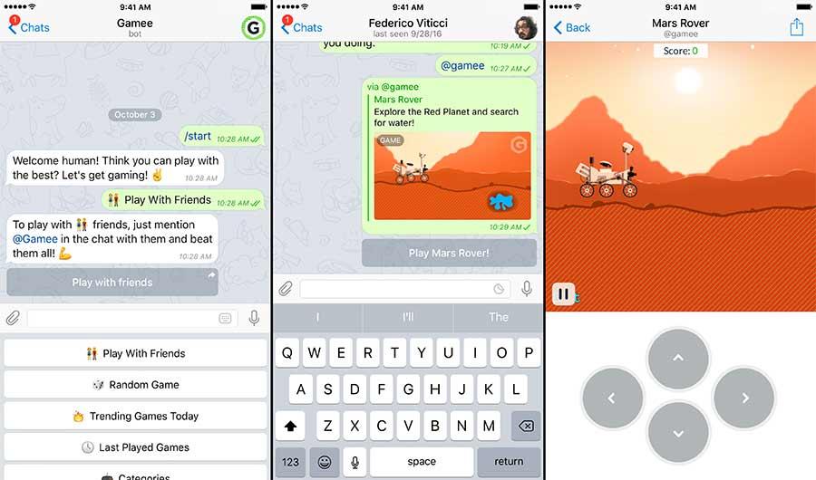 بازیهای گرافیکی در تلگرام