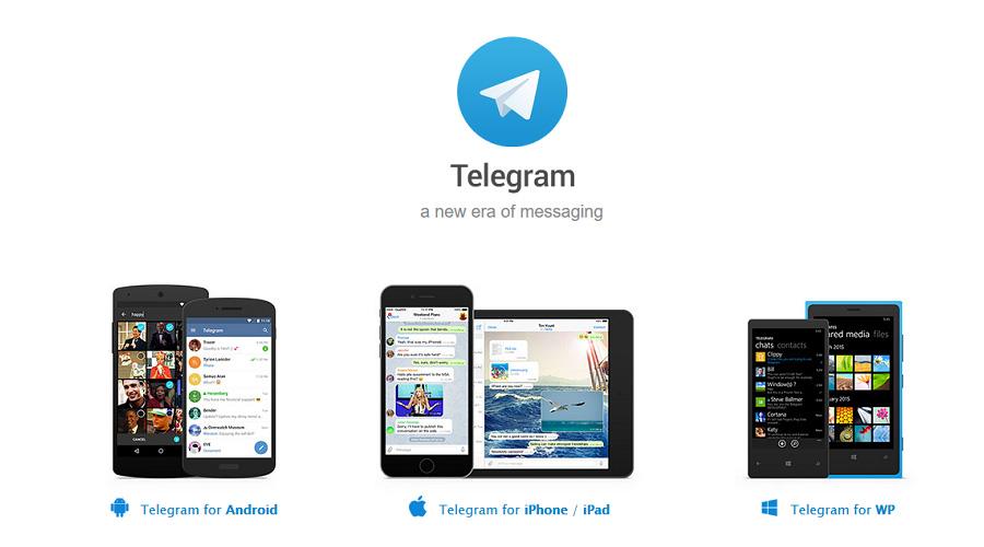 تلگرام برای دستگاههای مختلف