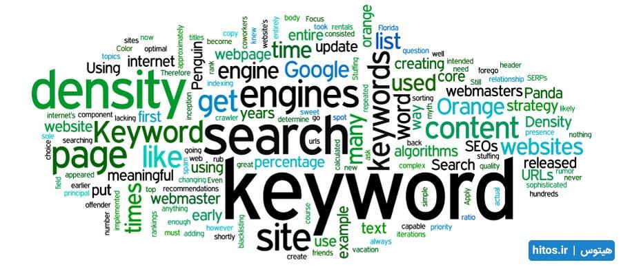 تراکم کلمات کلیدی گوگل