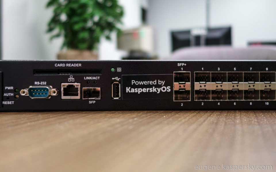 سخت افزار سیستم عامل امنیتی کسپراسکای kasperskyOs