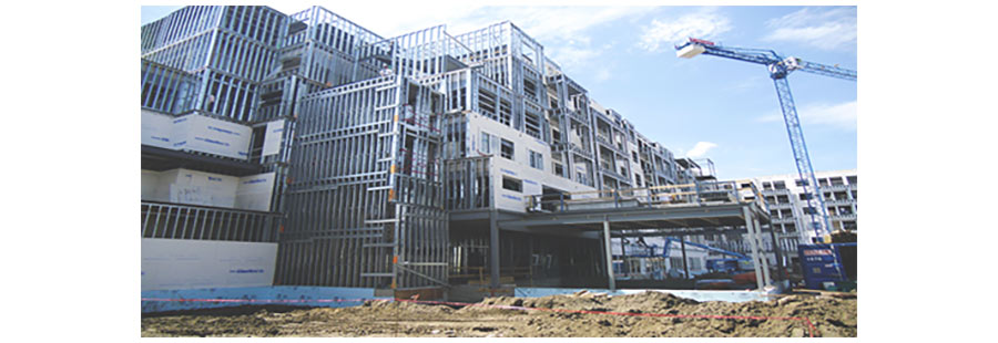 ساختمانهای صنعتی LSF