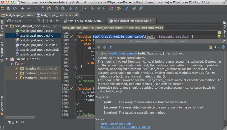 داکیومنت نرم افزارها و ادیتور PHP Stirm
