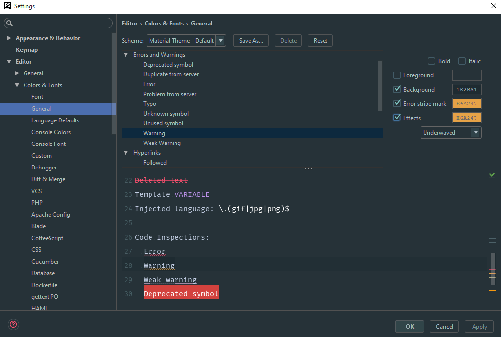آموزش تنظیمات phpstorm