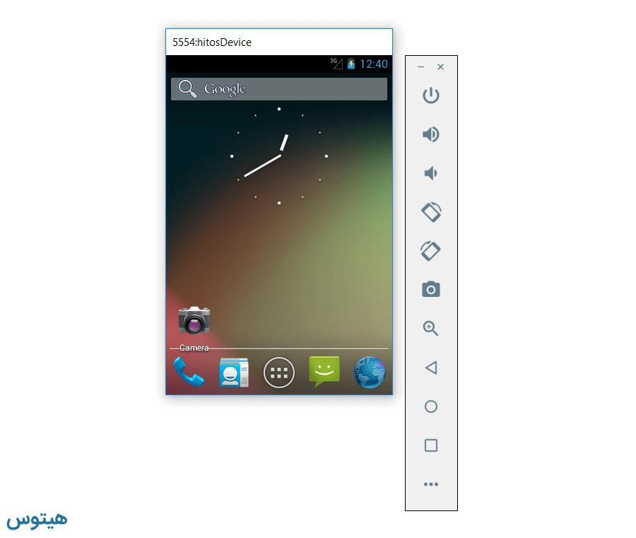نصب سیستم عامل اندروید در ویندوز