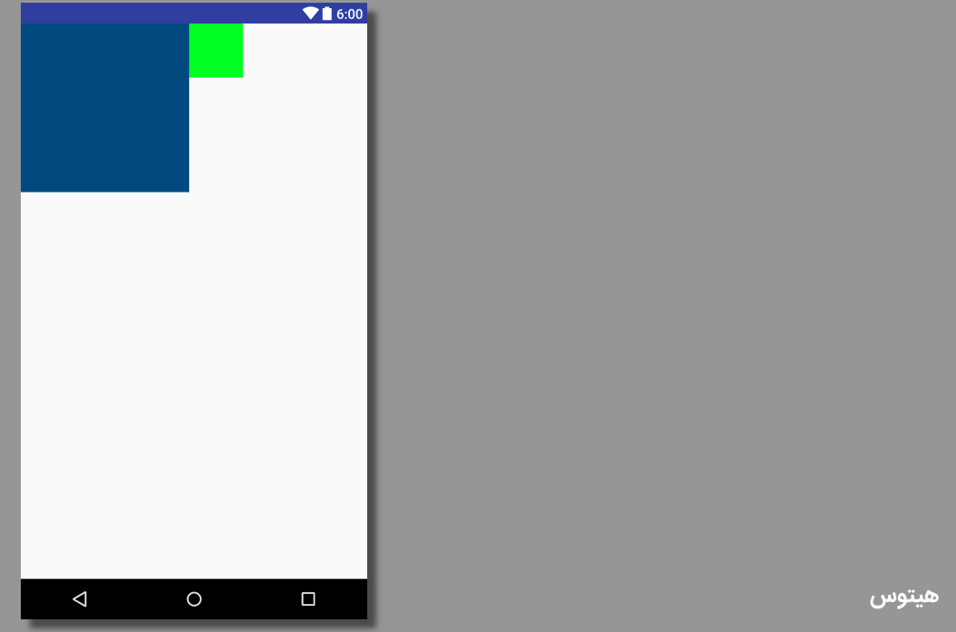 طراحی رابط کاربری UI اندروید